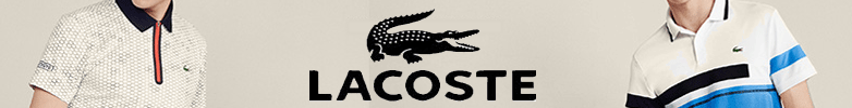 Cotton/poly Lacoste