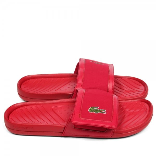 7bb27a283b Lacoste Lacoste Fynton USM SPM Red Sandals - Lacoste from Club JJ UK