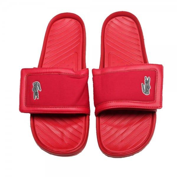 161c34f855019 Lacoste Footwear Lacoste Fynton USM SPM Red Sandals - Lacoste ...