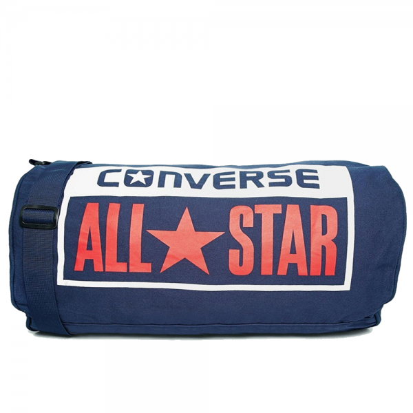 Converse Accessories Converse Canvas Holdall Duffle Bag Navy 10422C ... c1174d0f47d73