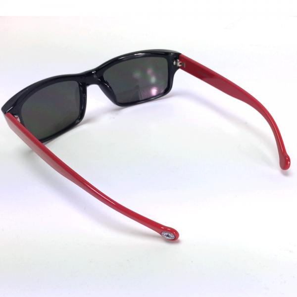 4d89e293793 Converse Accessories Converse Wayfarer Sunglasses H008 Black Red 57 ...