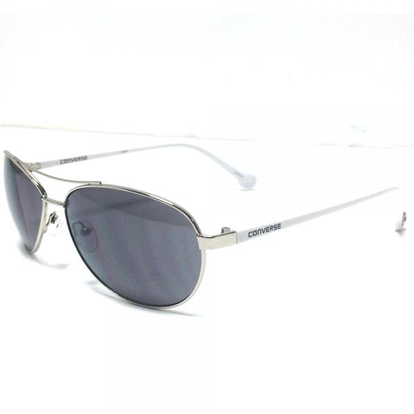 e1be4917c4 Converse Accessories Converse Aviator Sunglasses H033 Silver 59-14 ...