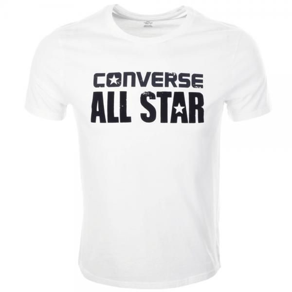 88a389bb Converse Converse All Star T-Shirt White 14084C - Converse from Club ...
