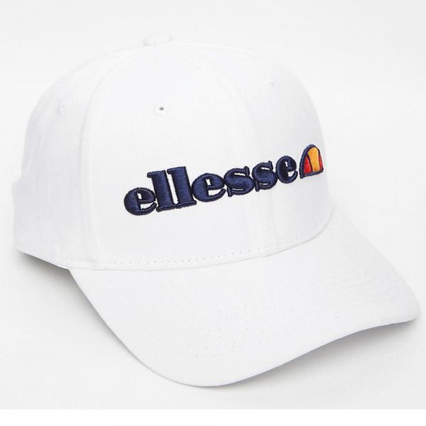Ellesse Ellesse Logo Sierra Baseball Cap White - Ellesse from Club JJ UK 24c29548ddc