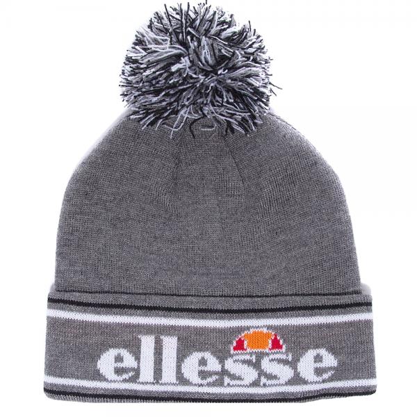 dd5e2248425b4c Ellesse Ellesse Logo Monza Bobble Beanie Hat Grey - Ellesse from ...