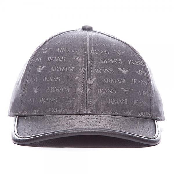 a51c5941 Armani Jeans Armani Jeans Grey Nylon BaseBall Cap 06482 V8 - Armani ...
