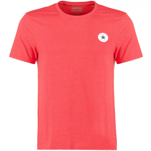 aaa9850e93dd Converse Converse All Star Chest Logo T-Shirt Red Marl 11861C ...