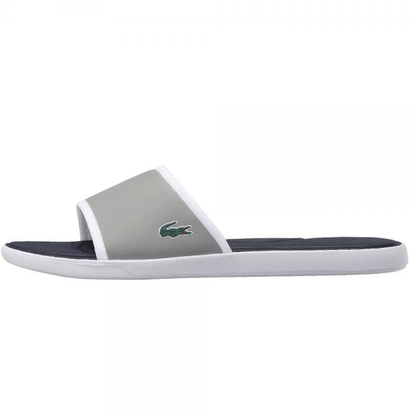0ceb25e5a9e8e Lacoste Footwear Lacoste L.30 Grey Slide Sport Sandals - Lacoste ...