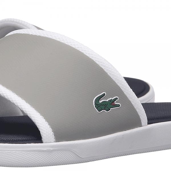 3b0dfa44454b Lacoste Footwear Lacoste L.30 Grey Slide Sport Sandals - Lacoste ...