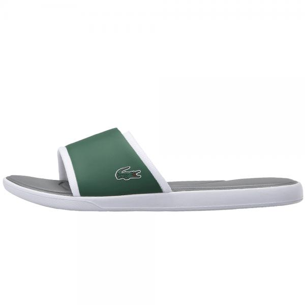15bf6394fb37f Lacoste Footwear Lacoste L.30 Green Slide Sport Sandals - Lacoste ...