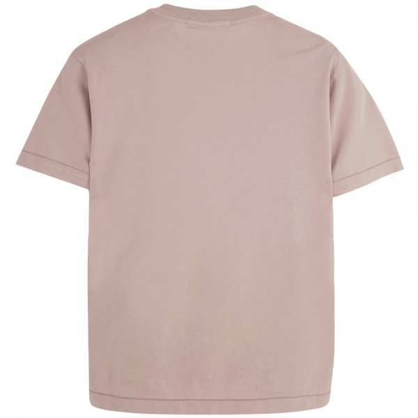 f6c86035 Stone Island Stone Island Logo Plain T-Shirt Dusky Pink V0082 24141 ...