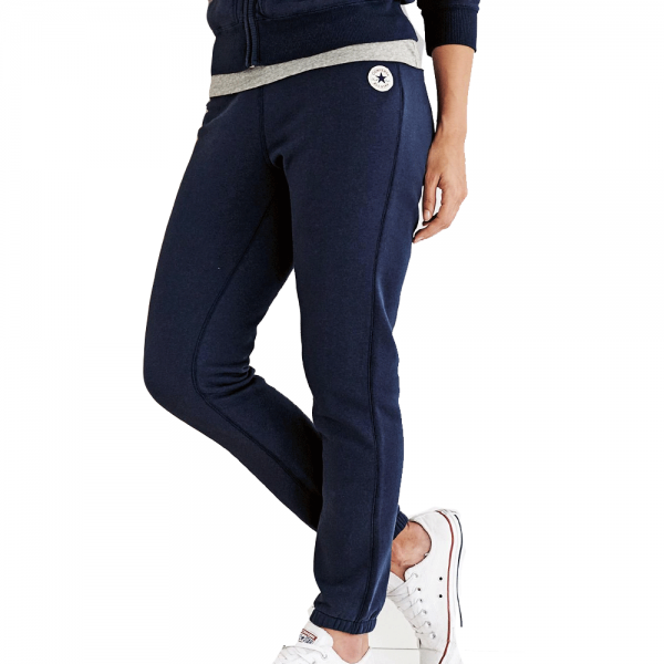 125096ff6874 Converse Womens All Star Core Slim Jogging Bottoms Navy Blue 414 10002091 -  from Club JJ UK