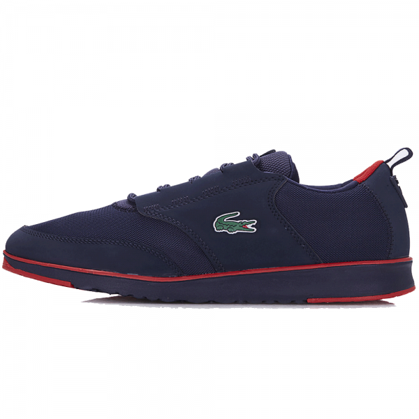 1228ddb15 Lacoste Footwear Lacoste Light 116 1 SPM Navy Blue Trainers ...