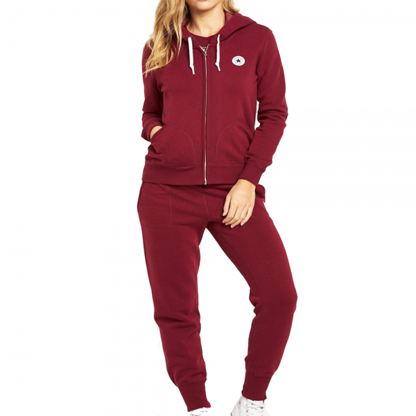 eb829030be3f Converse Womens Zip-Up Full Tracksuit Burgundy - from Club JJ UK