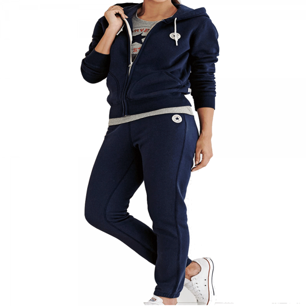 93f094df358d Converse Womens Zip-Up Full Tracksuit Navy Blue - from Club JJ UK