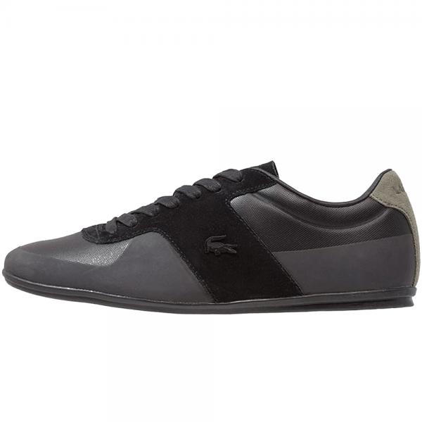 9031d7580e92e Lacoste Footwear Lacoste Turnier 117 Black Trainers - Lacoste ...