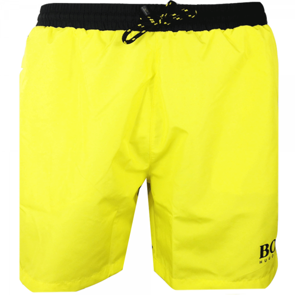7ae52adc8e561 Hugo Boss Hugo Boss Starfish Bright Yellow 732 Swim Shorts 50269488 ...