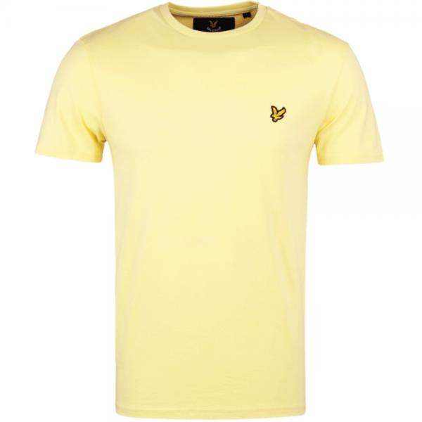 Lyle Scott Lyle Scott Plain Crew Neck T Shirt Pale Yellow Ts400v Lyle Scott From Club Jj Uk
