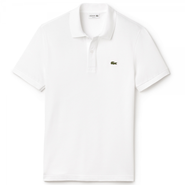 fdf67e08b Lacoste DH2050 White Jersey Polo 001 - from Club JJ UK