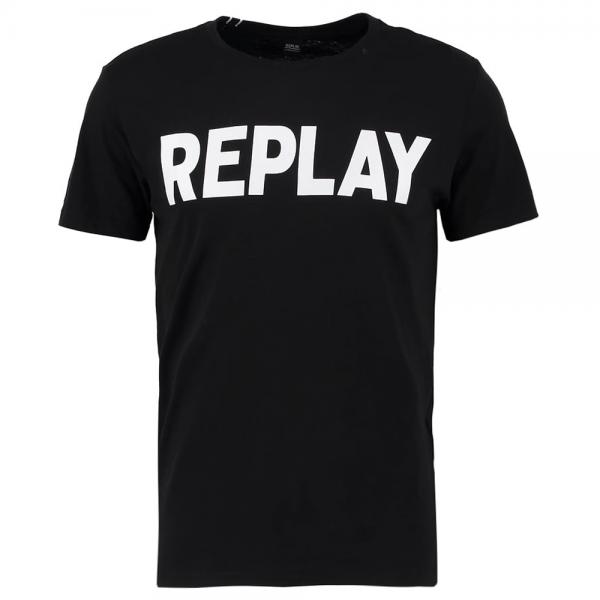 Replay Logo T-Shirt Black M3849