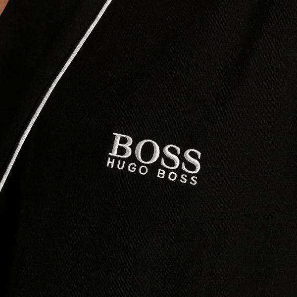 Hugo Boss Boss Black Kimono Bm Black Cotton Dressing Gown 50229070