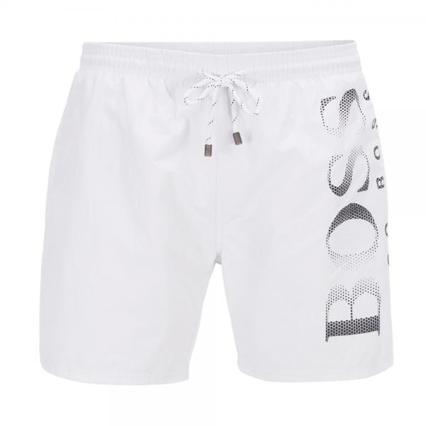 8eada394c Hugo Boss Hugo Boss Octopus Swim Shorts White 103 50371268 - Hugo ...