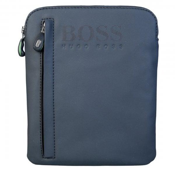 Boss Green Boss Navy Pu Hyper S Side Bag 50379329 Boss