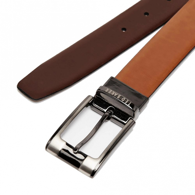 448e803fb732a Ted Baker Ted Baker Crafti Reversible Belt Tan Brown - Ted Baker ...