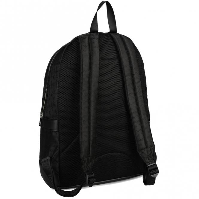Armani Jeans Armani Jeans Black Nylon Backpack 0622L V8 - Armani ... b3fd6a6fc3026