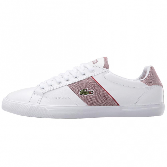 Lacoste Footwear Lacoste Fairlead 216 White Leather Trainers