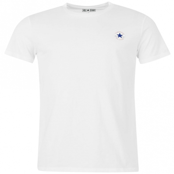 Converse All Star Chest Logo T-Shirt White 102 10002850