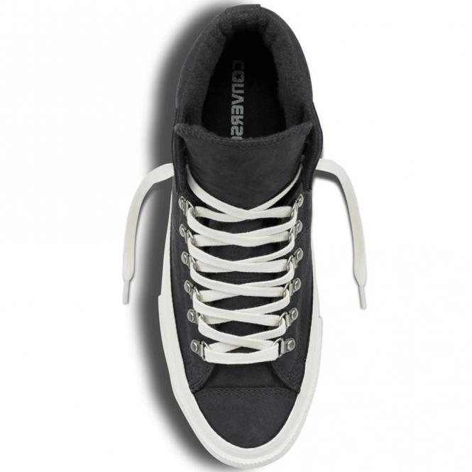 9f492b8159e0 Converse Footwear Converse All Star Hiker Hi-Top Black Grey Trainers ...