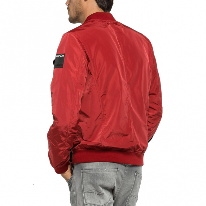 e60ceac55 Replay Replay Red Bomber Jacket M8814 82694