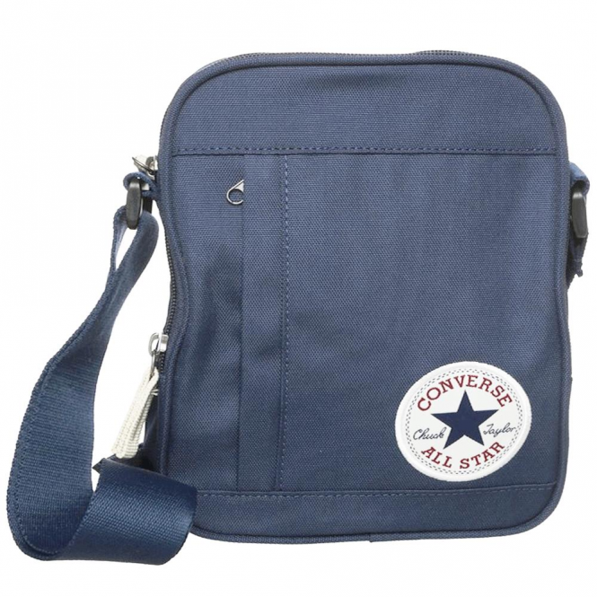 489c6b722ba2 Converse Accessories Converse Navy Side Bag 10003338 - Converse ...
