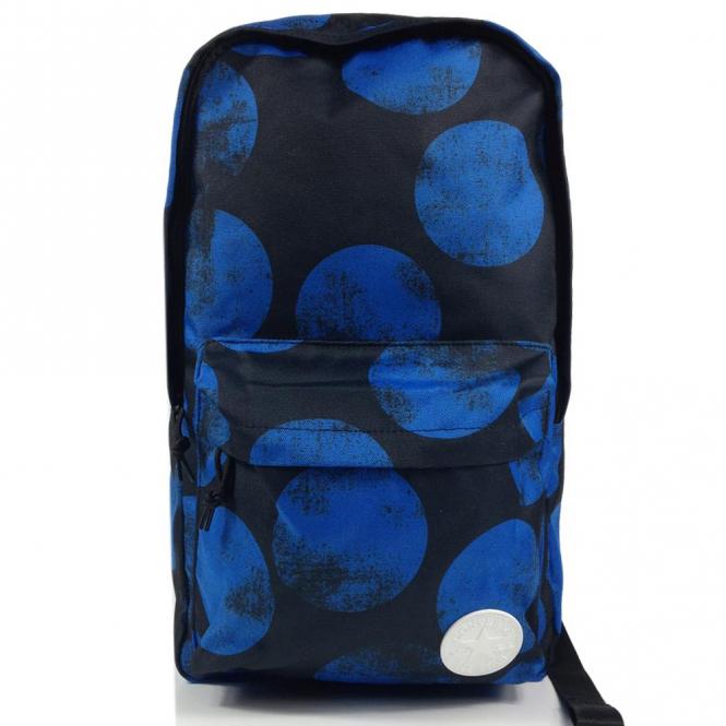 fbd44ed056f2 Converse Accessories Converse Backpack Bag Black Blue Print 10003331 ...