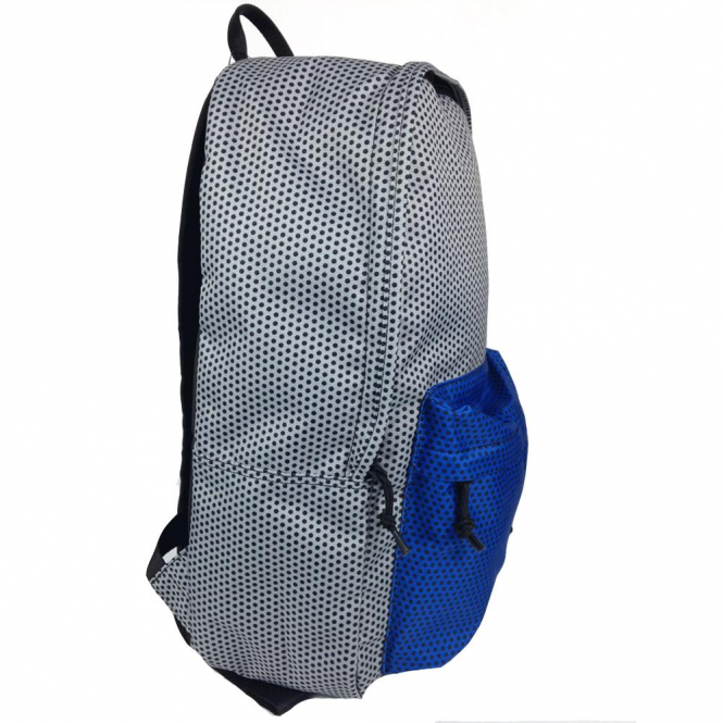 65d169f5129aa8 Converse Accessories Converse Backpack Bag Silver Blue Polka Dot ...