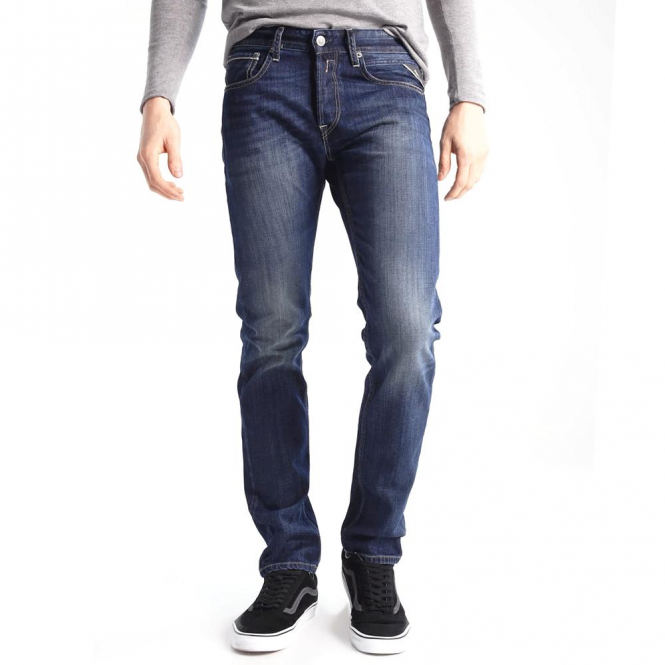 Replay Replay Grover Straight Fit Denim Jeans MA972 606 308 009 ... 7d2ac80594