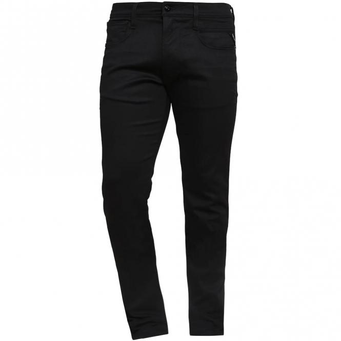 3f3ef119af0 Replay Jondrill Stretch Skinny Fit Black Denim Jeans MA931 473 07S 098