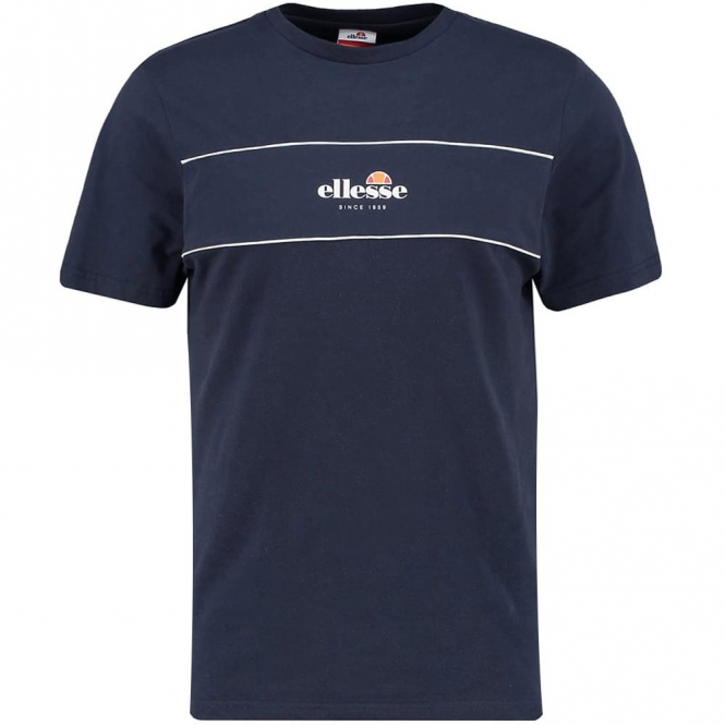 Ellesse Cannavaro T-Shirt Navy Blue