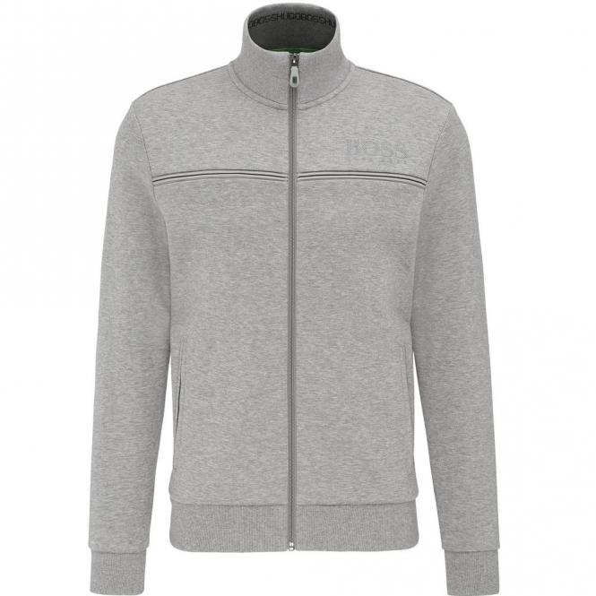 2a0842b3dc48 Boss Green Boss Green Skaz Grey Zip Up Sweatshirt Jacket 50324768 ...