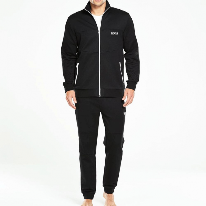 Hugo Boss Hugo Boss Zip Up Tracksuit Black 50330999 Hugo