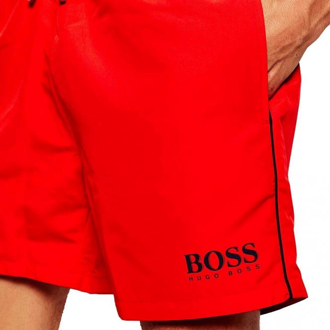 4de2088f3bdfc Hugo Boss Hugo Boss Starfish Red 627 Swim Shorts 50269488 - Hugo ...