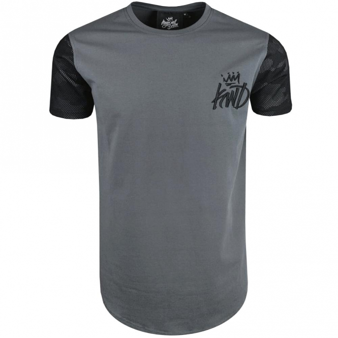 Kings Will Dream Gasper Charcoal Camo Mesh T-shirt