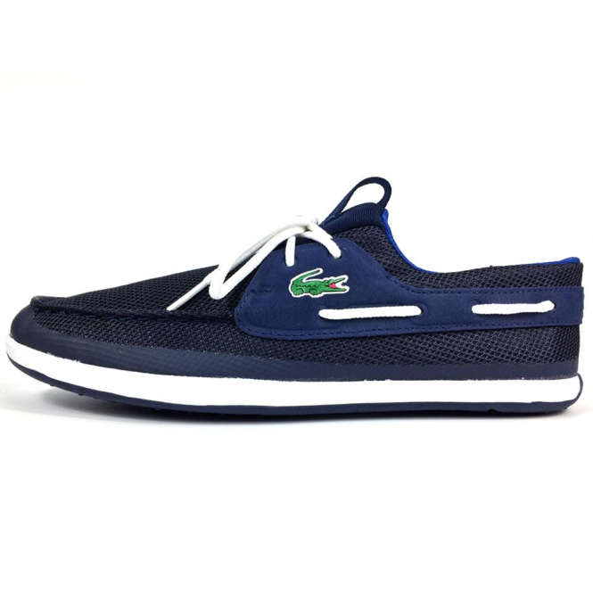 Lacoste Footwear L.Andsailing 317 Navy Trainer Boat Shoes