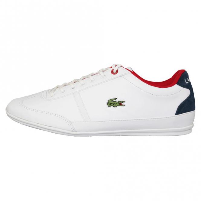 11cc7f86cfc3 Lacoste Footwear Lacoste Misano Sport 317 White Trainers - Lacoste ...
