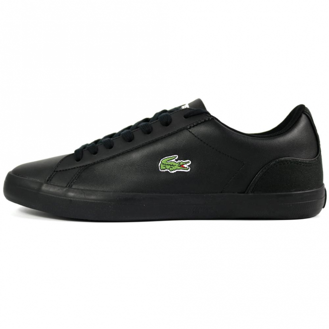 Lacoste Footwear Lacoste Lerond 317 Black Leather Trainers