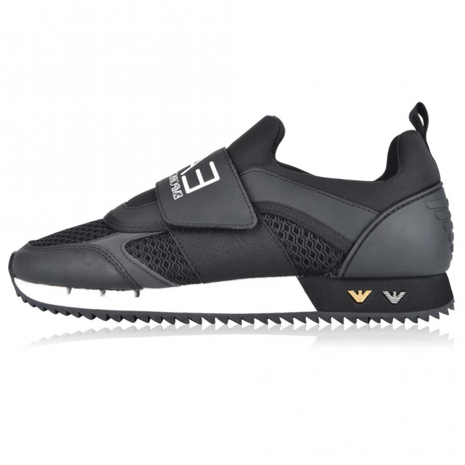 armani velcro runner trainers, OFF 72%,Buy!