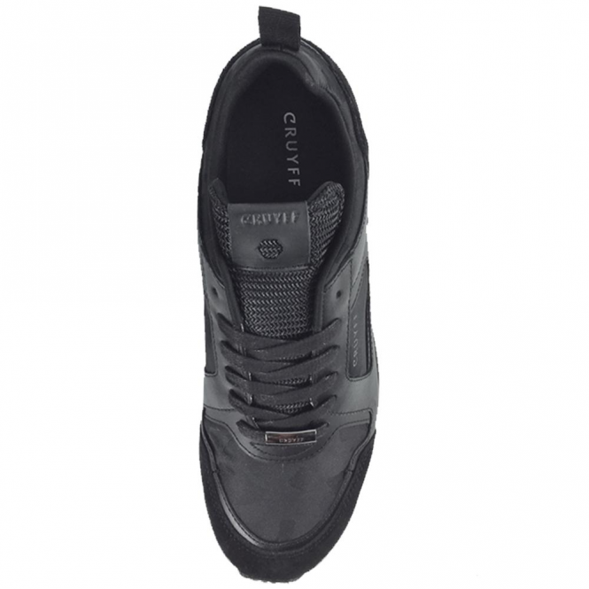 4ecaa2d1036 Cruyff Classics Cruyff Classics Lusso 317 Black Coated Leather ...