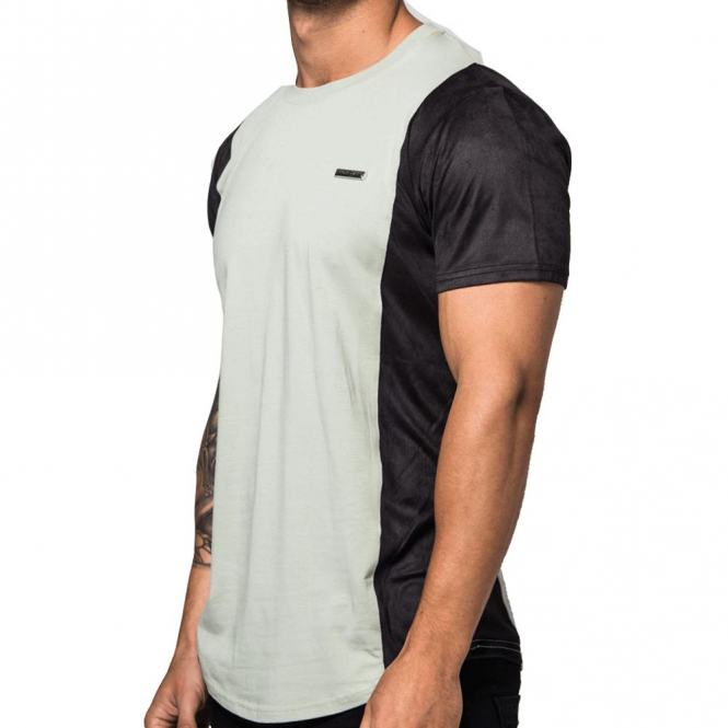 Foray Quarter Sage Black Tee T-shirt