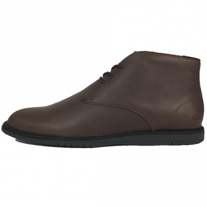 lacoste chukka boots brown - 51% OFF